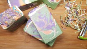 Aloe Vera Avocado Soap - Mermaid Song