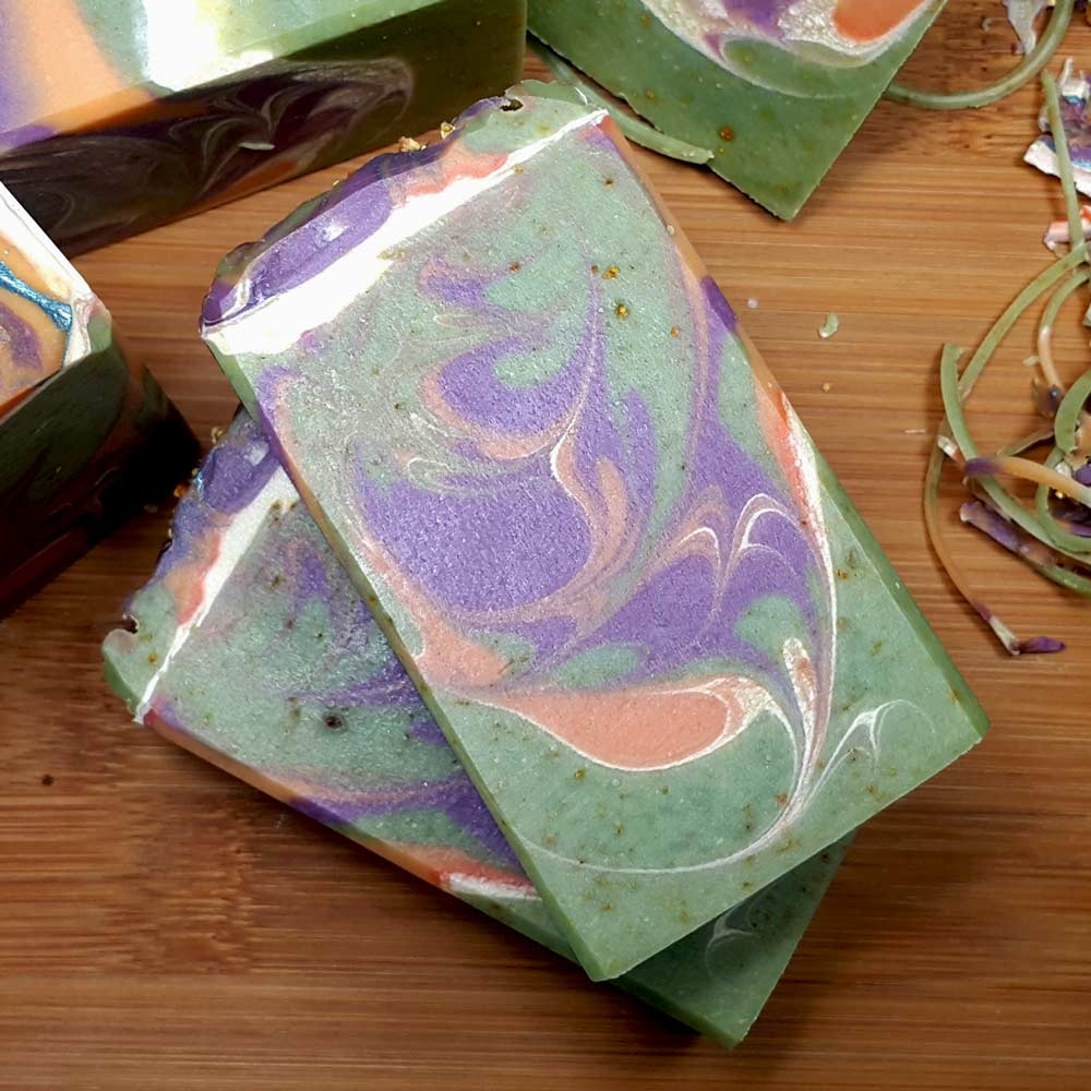 Aloe Vera Avocado Handmade Soap - Mermaid Song